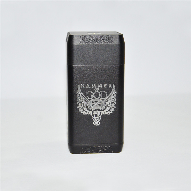 Nouveau Vaper nuage marteau de dieu V4 boîte Mod Cigarette électronique énorme puissance marteau de dieu 4 510 Vape Mod pour RDA RTA RDTA réservoir