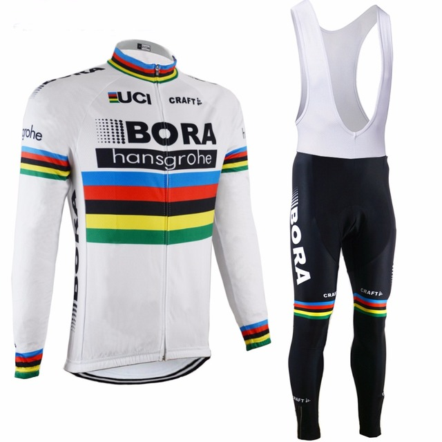 e363795d9 2017 New Cycling Team Bora Cycling jersey wear Clothing men s maillot ropa  bici ciclismo mtb bike Bicycle clothing
