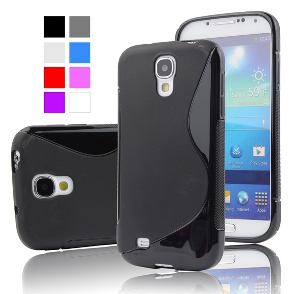 newest cf94e 6d411 US $2.39 20% OFF|For Samsung S4 Case Anti skid Slim Soft Plastic Case For  Samsung Galaxy SIV S4 i9500 5.0