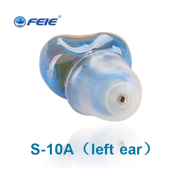Rechargeable Hearing Aid Deaf Portable ITE Hearing Aids For The Elderly old people Hearing Amplifier Compared to Siemens S 10A