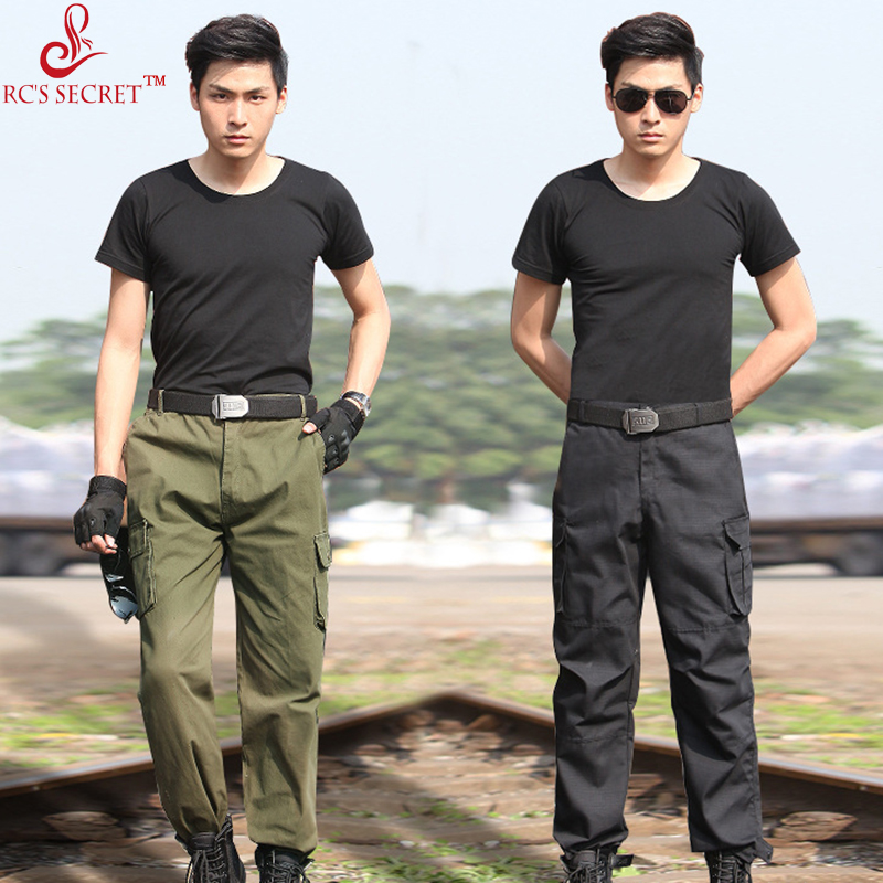 RC S SECRET Men Pant Combat Trousers Military Pant Men Cargo Pants Men Military Style Casual