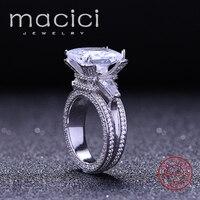 Women Silver Ring 925 Clear CZ Diamond Rings Fashion Luxury Women Engagement Jewelry Girlfriend S Gift