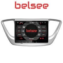 Belsee per Hyundai Verna Accent Solaris 2017 2018 2 Din Android 8 Auto Radio Stereo di GPS di Navigazione Bluetooth IPS Schermo 4 GB 32 GB