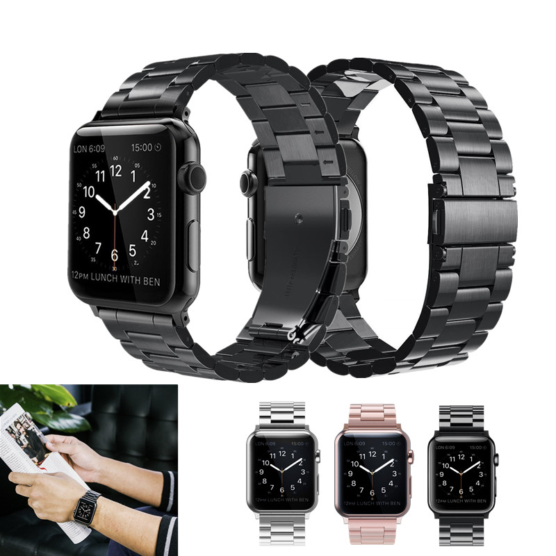 Stainless Steel Band For Apple Watch 42mm Series1 Series 2 Series 3 Replacement Classic Version For iWatch Strap 38mm Metal Belt