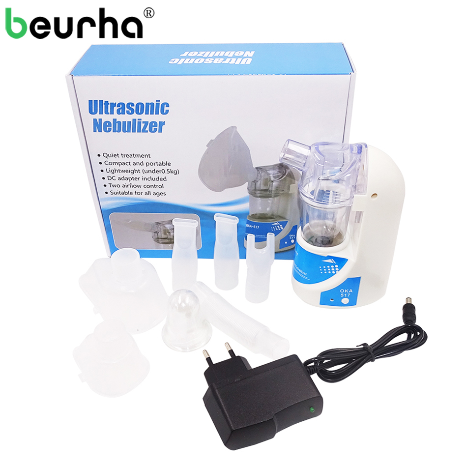 Assistenza Sanitaria Asma Inalatore Mini Automizer Children Care Inalare Nebulizzatore 110 V/220 V Casa Nebulizzatore Ad Ultrasuoni