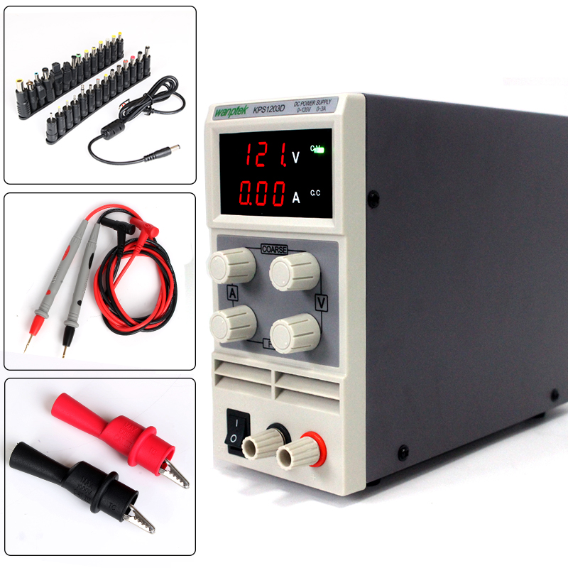 Utility model High precision switching power supply for production and maintenance,120V 3A 0.1V adjustable Mini DC Power Supply kuaiqu high precision adjustable digital dc power supply 60v 5a for for mobile phone repair laboratory equipment maintenance