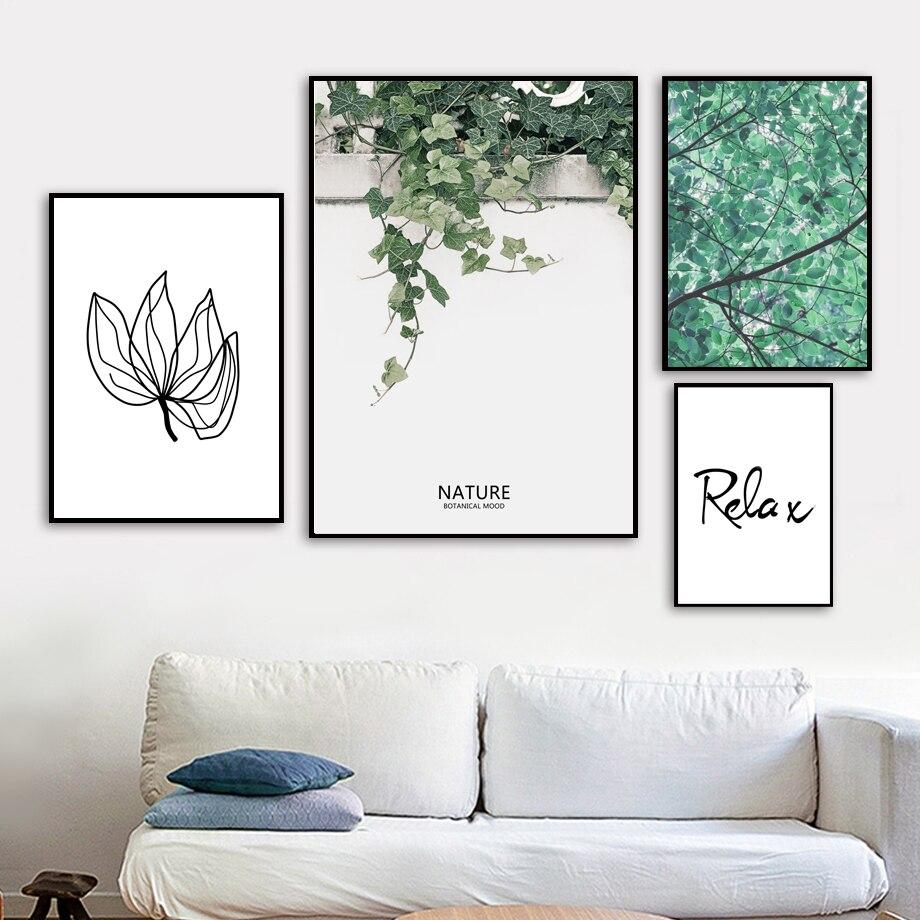 Botanical Wall Art Canvas Painting