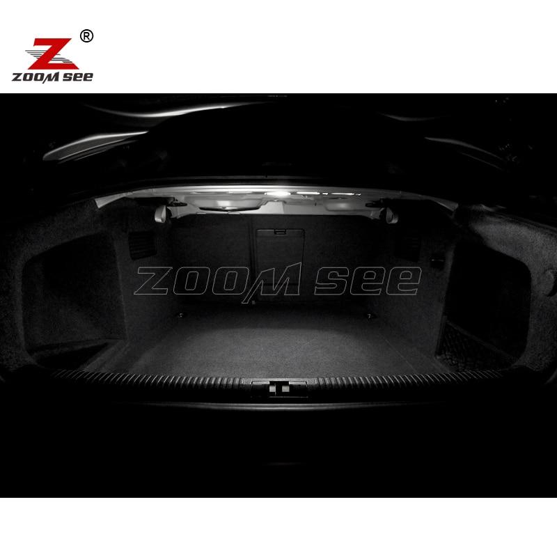20 pc x Canbus LED lampu interior kubah peta cahaya Kit Paket untuk - Lampu mobil - Foto 6