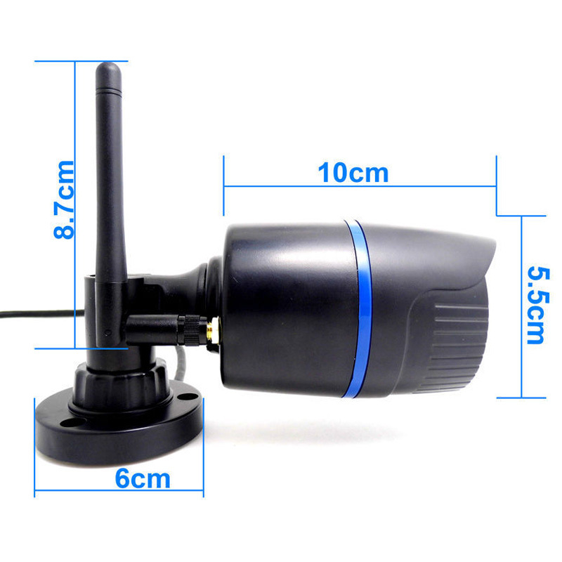 2.0MP Ip-kamera Trådløs HD 1080P Udendørs vandtæt infrarødt - Sikkerhed og beskyttelse - Foto 3