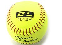 Top quality!12Inch Professional Cowhide Leather Softball,Softball Games Professional Soft Softball,Free shipping!