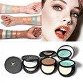 Caliente de la nueva llegada Luminoso highlighter Perla Sombra de Ojos en polvo/Paguma alta cuatro 4 opciones de color
