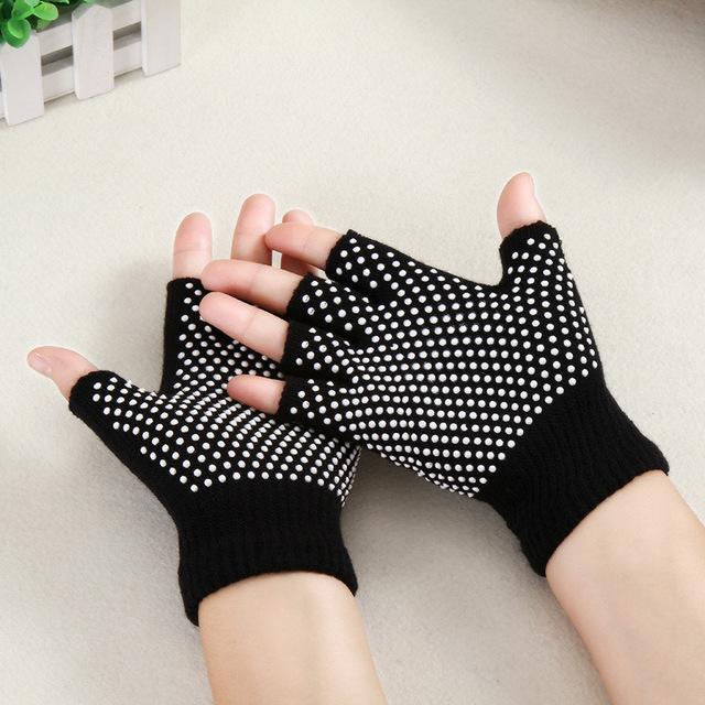 Half Finger Yoga Gloves  5 colors