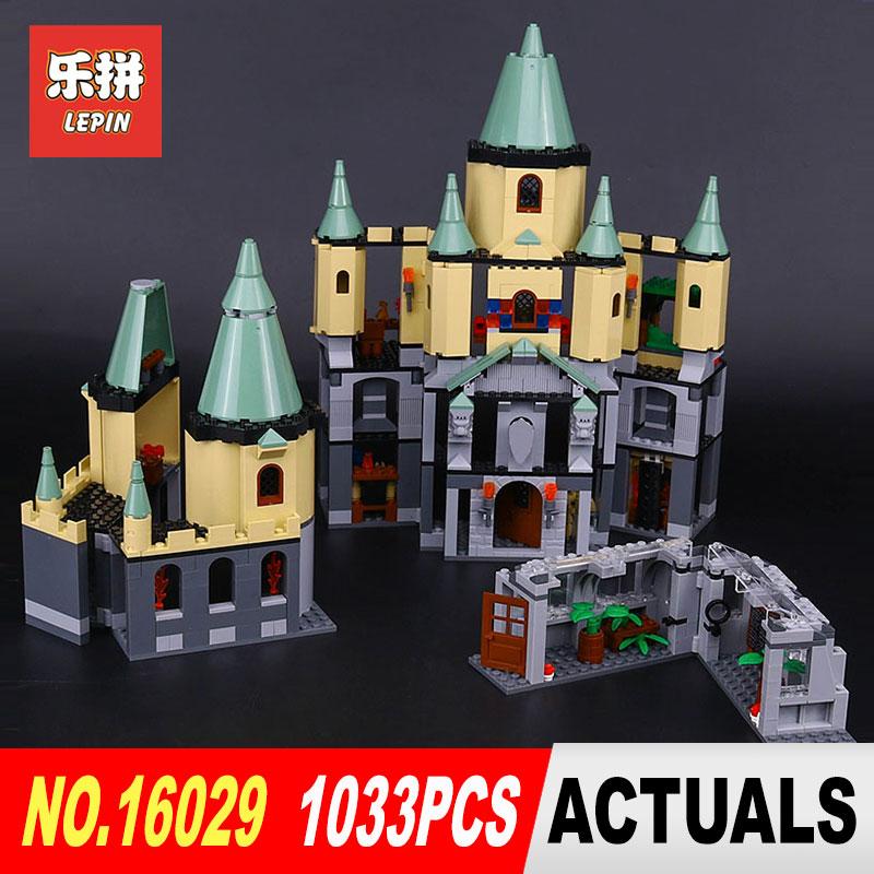Lepin 16029 1033Pcs Movie Series The magic Hogwort Castle Model Building Blocks Bricks Educational Toys for Children Gifts 5378