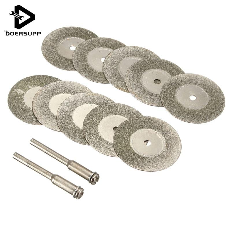 36PCS 24mm Resin Cutting Wheel Discs Set 1 Mandrel For Rotary Tool DIY Hot Sale