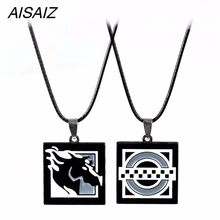 FPS Game Rainbow Six Siege Clash Maverick Necklace key chain Zinc Alloy Pendant Men Women Jewelry Fans Gift Charms Accessories(China)