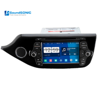 Android 4.4.4 для Kia Ceed S160 Автомобильный мультимедийный Стерео Радио DVD gps навигация медиа система Центральный Мультимедиа