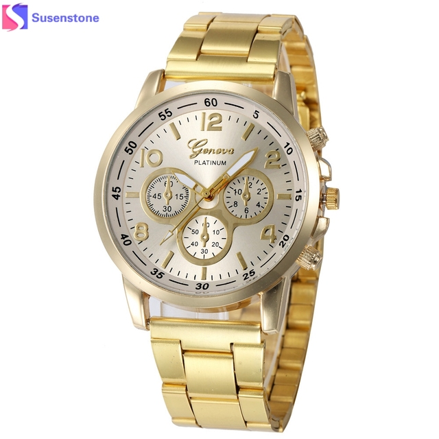 Women Watches Kol Saati Stainless Steel Band Sport Quartz Hour Analog Watch Ladi