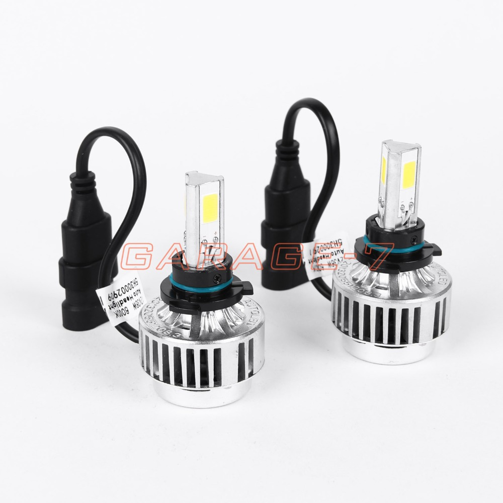 ФОТО One pair of high quality LED headlights all in a A336 9006 car fog 3 COB3300LM6000K headlamp