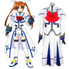 Magical Girl Lyrical Nanoha Cosplay Costume Halloween