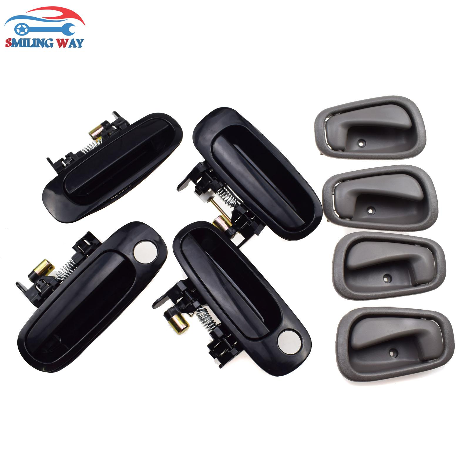 For 1998-2002 CHEVROLET PRIZM Front Rear Right Left Exterior Outer Door Handle