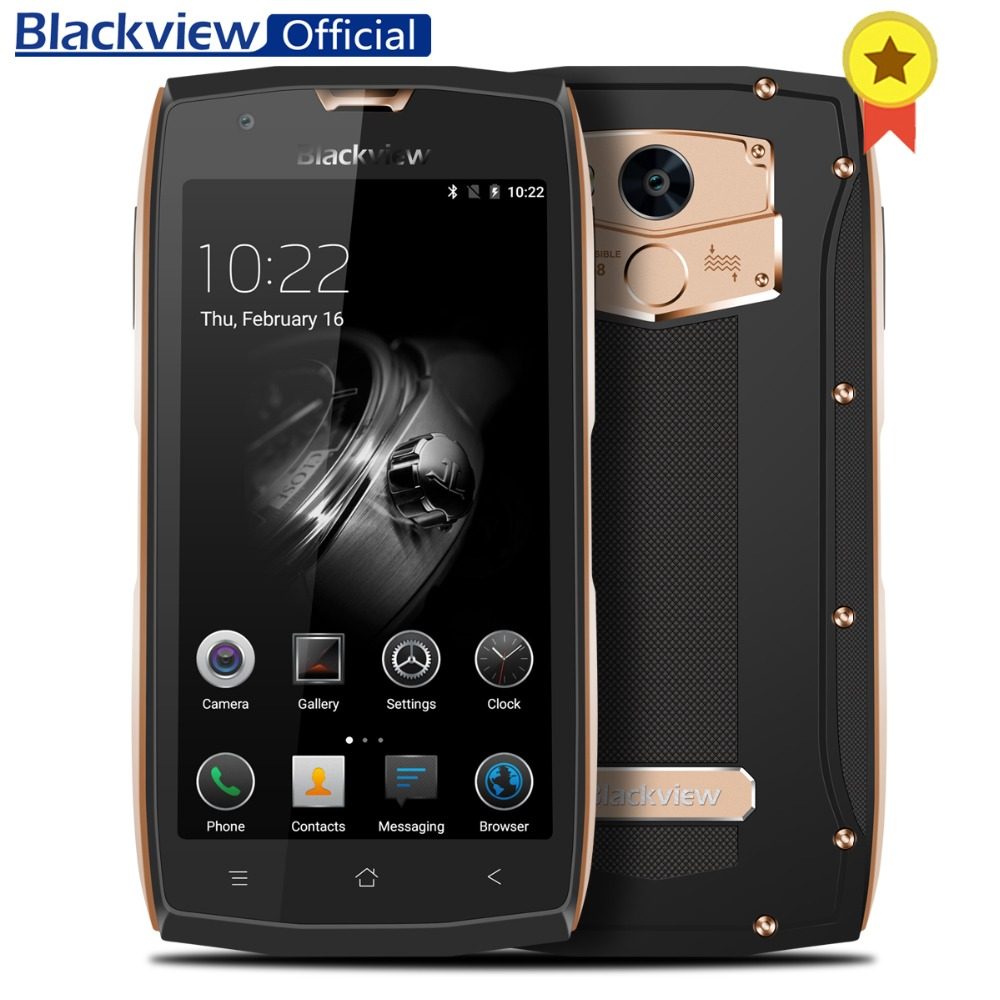 Blackview BV7000 Pro 4G Smartphone IP68 Waterproof 5 0 FHD Screen 4GB 64GB MT6750T Octa core