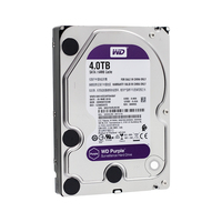 WD фиолетовый 4 ТБ HDD наблюдения жесткий диск 5400 об./мин. класс SATA 6 ГБ/сек. 64 МБ кэш 3,5 дюймов WD40EJRX
