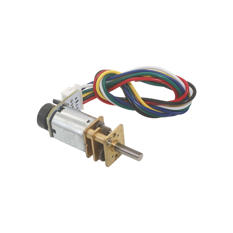<font><b>N20</b></font> Micro 6V DC Gear Motor with <font><b>Encoder</b></font> PPR=7 Geared Motors image