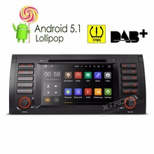 7″Android 5.1 Lollipop 64-bit OS Quad Core Car DVD Player With Screen Mirroring/TPMS/OBD2 for BMW X5/E53 1999-2006/E39 1996-2003