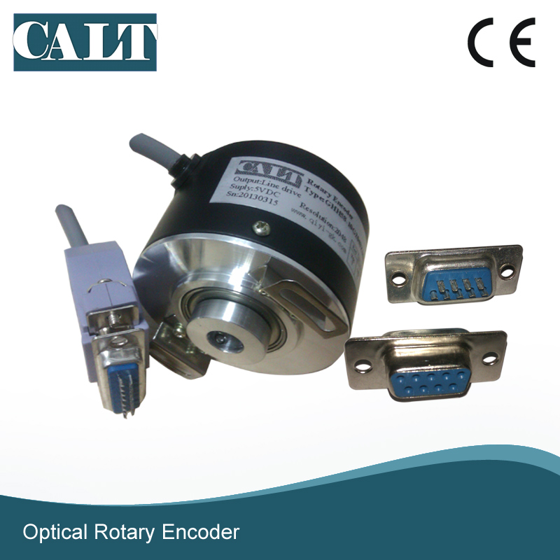 CALT GHH60 12 mm hollow shaft optical rotary encoder 500 1000 1024 2000 2500 ppr pulse 5V line driver output rotary encoder hs5208 01g 1024bz1 5l hs3806 01g 2000bz1 12 24c