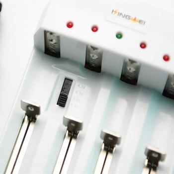 cb4594b72 Frete grátis, 10 peças/lote 18650/26650 cut-off carregador de bateria  nimh/bateria alcalina/fosfato de ferro de lítio/bateria de iões de lítio/5/7