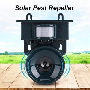 Image 5 - Electronic Ultrasonic Bird Repeller Solar Powered PIR Motion Sensor Pest Repeller Bird Dog Cat Mouse Chaser For Squirrel Rat