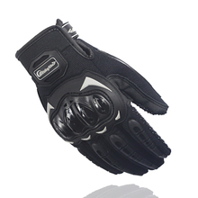 Перчатки мотоцикла мотоцикл мотокроссу перчатки moto guantes de motocicleta гонки luvas де gants motociclista велоспорт черный