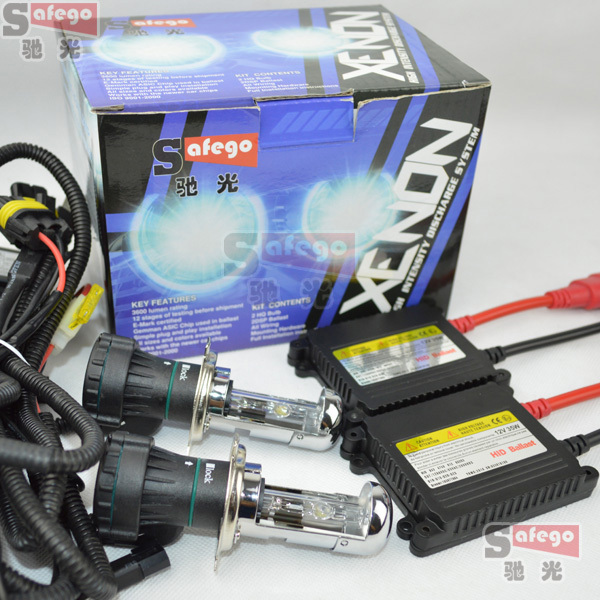 1 set Hot selling hi lo kit bixenon H4-3,H13-3, 9004-3(HB1-3),9007-3(HB5-3) bixenon h4 kit 4300K,6000K,8000K,10000K,12000k