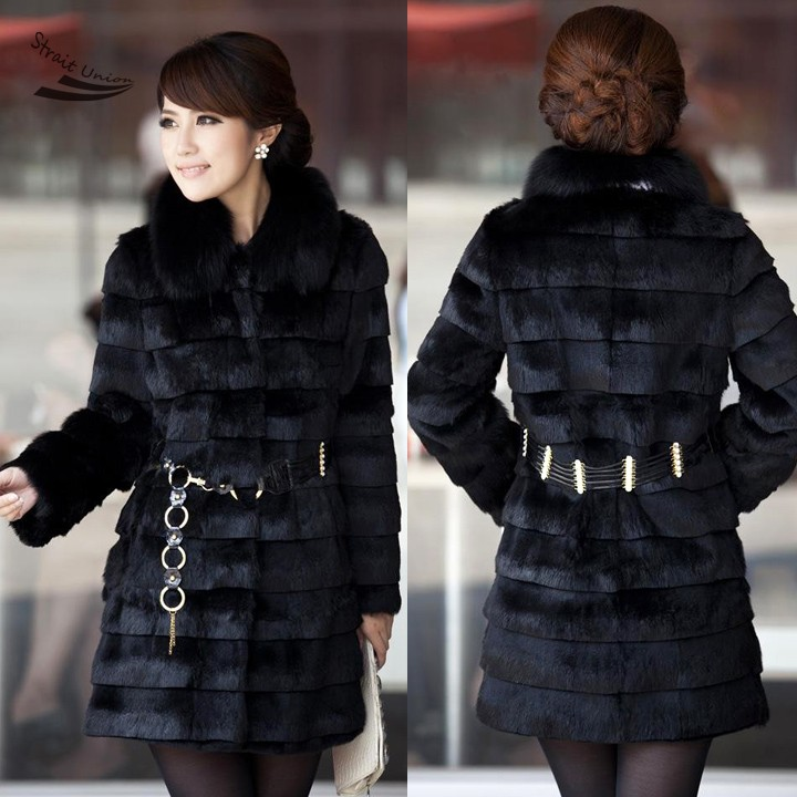 Online Buy Wholesale discount fur coats from China discount fur ...