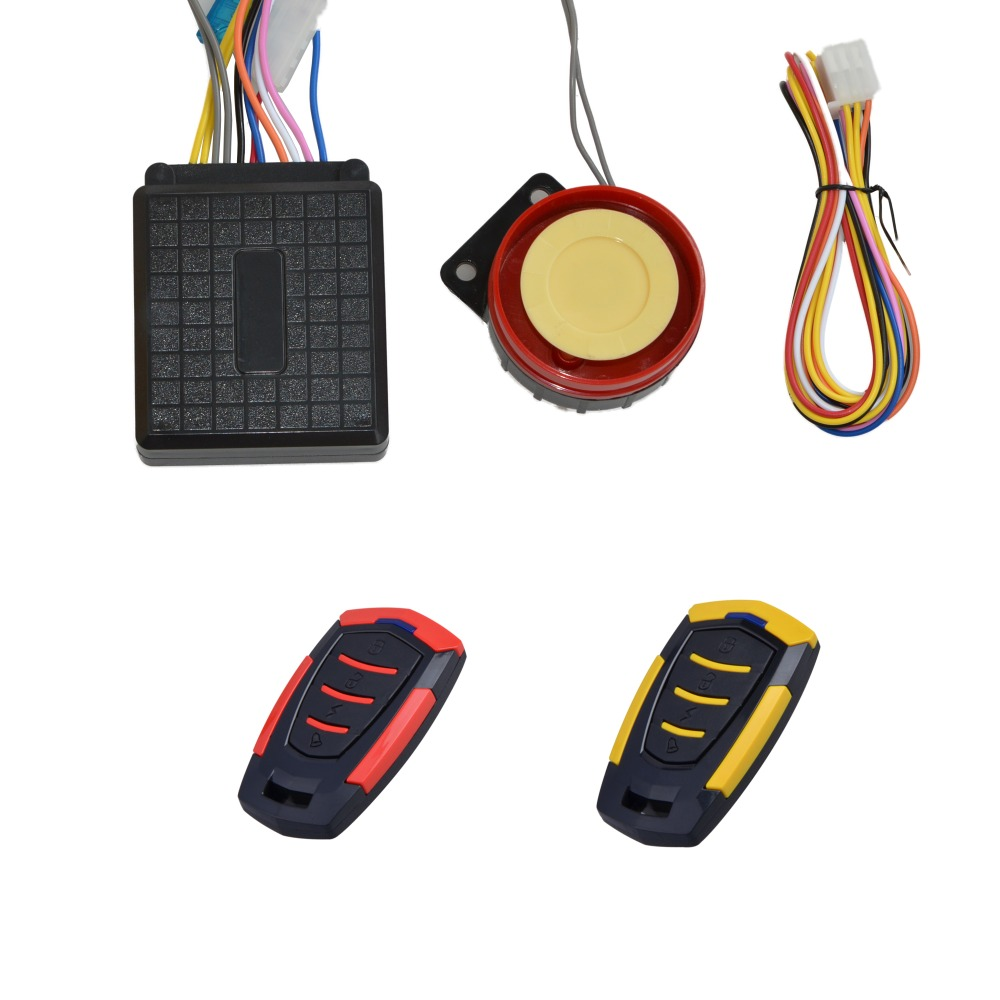 Nuevo Sistema de alarma universal de motocicleta Sistema de alarma de seguridad antirrobo Control remoto Motor Start