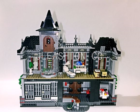 07044 Super Hero Series The Batman Asylums Building Blocks Children Educational Bricks Toy Christmas Gift compatible 10937