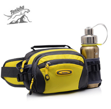 TANLUHU Durable Outdoor Sports Camping Belt Water Bottle Waist Bags Women Men Lightweight Small Mess Pouch