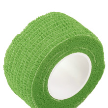 New Arrival  Self-Adhering Bandage Wraps Elastic Adhesive First Aid Tape Stretch 2.5cm free shipping