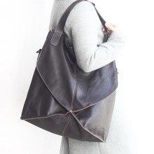 2017Fashion Genuine Leather Women Large Capacity Handbag Patchwork Natural Sheepskin Shoulder Bag Ladies Black Casual sac Bolsa  все цены