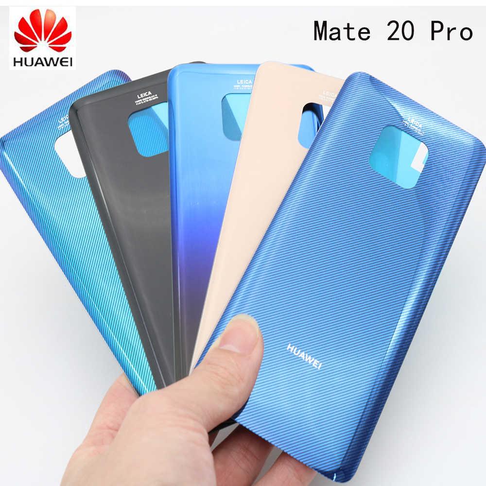 """Оригинальный huawei mate 20 Pro крышка батареи Задняя Дверь Корпус задняя крышка 6,39 """"huawei mate 20 Pro крышка батареи, 4 цвета в наличии"""