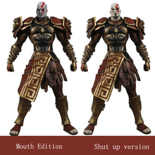 цена на 7inch 18cm NECA Anime God Of War Brinquedos Action Figure Juguetes Games Toy Kratos Figures Brinquedo Collectible Model Toys