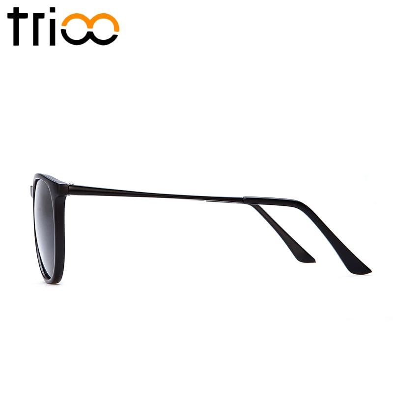 TRIOO Polariserad Spegel Solglasögon För Kvinnor Lyx Märke Färg - Kläder tillbehör - Foto 5