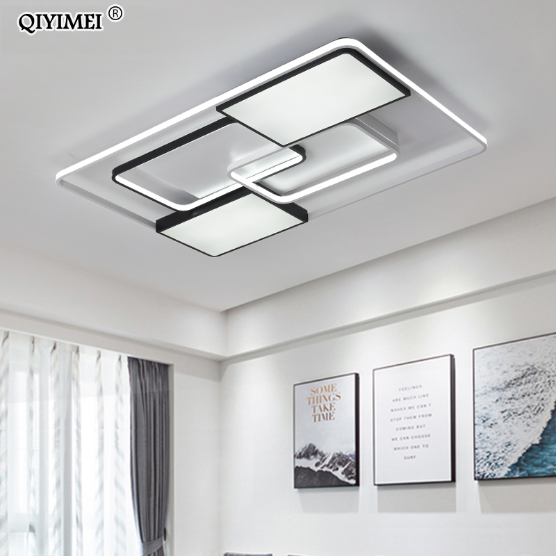 Image 2 - New Modern LED Ceiling Lights Living Room Dining Bedroom Luminarias Para Teto Lighting Lamp For Home Fixture Lamparas De Techo-in Ceiling Lights from Lights & Lighting
