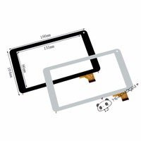 New 7 Inch Digitizer Touch Screen Front Glass Panel For HK70DR2368 OPD-TPC0265(ver.2) Tablet