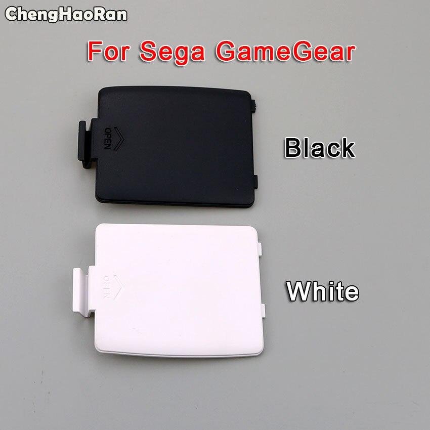 ChengHaoRan 1 Par Tampas de Substituição Da Porta Da Bateria Da Tampa Do Caso para o Console Para Sega Sega Gamegear GG L R Tampa Da Bateria