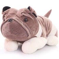 Köpek peluş oyuncak köpek yastık bebek Büyük shapi köpek bez bebek doğum günü hediyesi kız