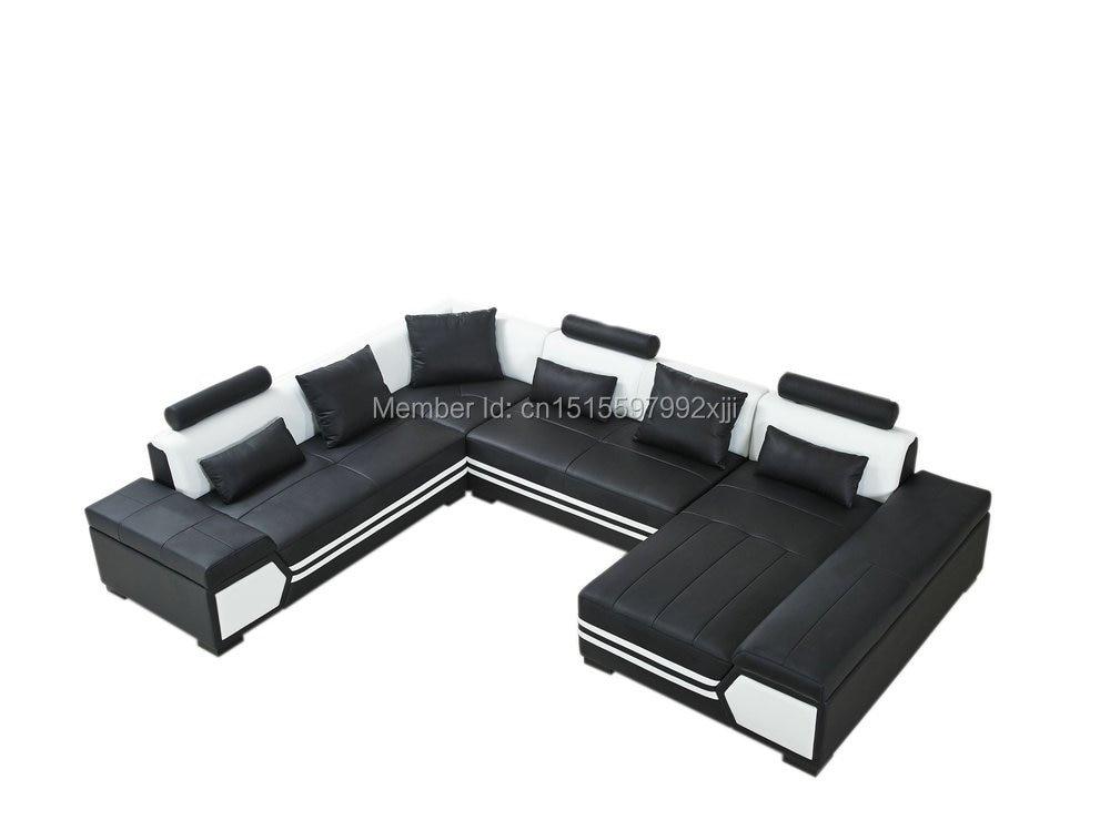 купить Chaise Armchair Factory Sale European Style Set No Genuine Leather Muebles Bean Bag Chair For Living Room Modern Sofa Corner по цене 121035.55 рублей