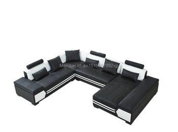 Hochwertig Chaise Sessel Fabrik Verkauf Europäischen Stil Set Keine Echte Leder  Muebles Sitzsack Stuhl Für Wohnzimmer Moderne Sofa Ecke