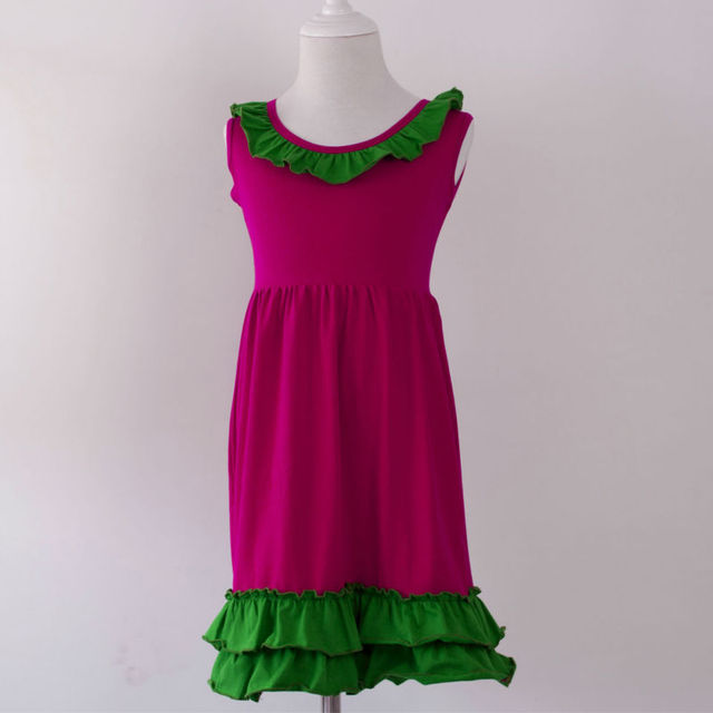 b248d0b2e infant frock designs summer dress toddler children party christmas ...