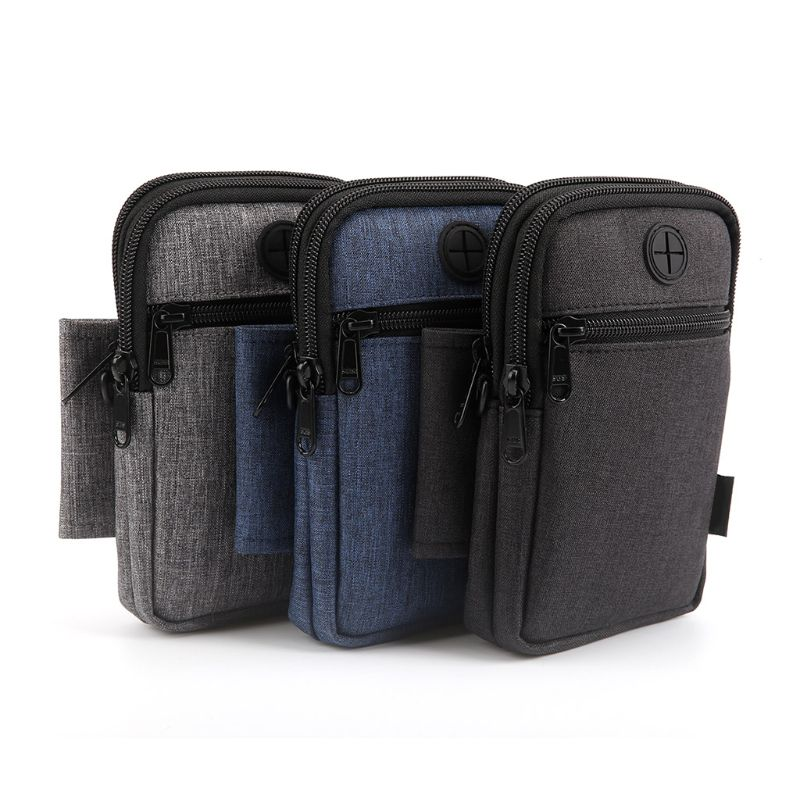 Men Sport Fanny Pack Mobile Pouch Crossbody Bag For Smartphone Up To 6.3 Inch